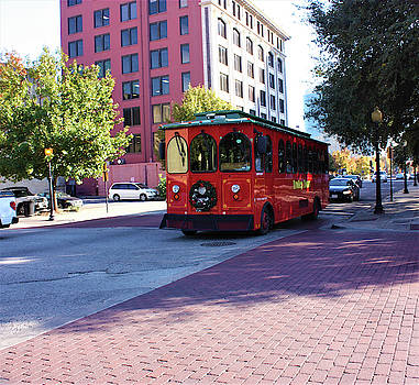 Streetcar in Dallas, Texas  by Deborah Kinisky