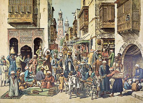 Streetlife in Cairo by Pekka Liukkonen