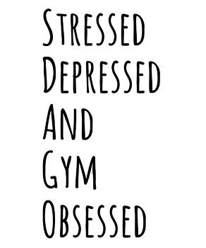 Stressed Depressed But Well Dressed Funny Humor Gift Present by Cameron Fulton