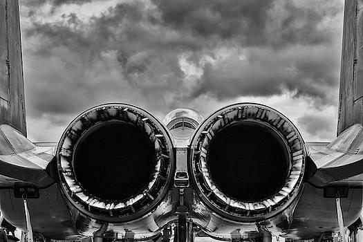 Strike Eagle under Stormy Skies by Chris Buff