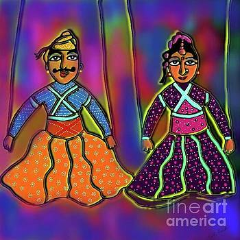 String Puppets by Latha Gokuldas Panicker