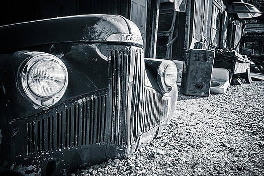 Studebaker Gold King Mine Jerome Arizona by Edward Fielding