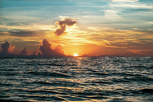 Stunning John's Pass Sunset by Natalie Simon-Joens