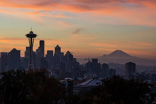 Stunning Seattle Sunrise by Matt McDonald