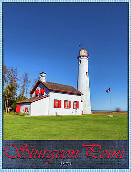 Sturgeon Point Lighthouse 2 by Fran Riley