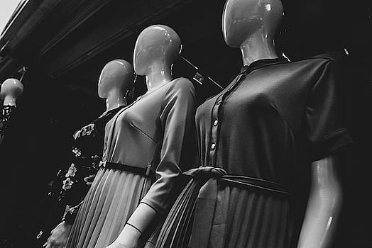 Street Side Mannequin Retro Style by Vladan Radulovic