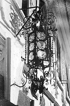 Jenny Rainbow - Stylish Iron-shod  Ancient Lantern. Prague