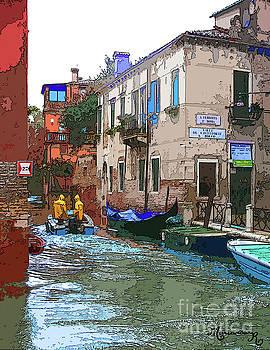 Stylized Venice by Mariarosa Rockefeller