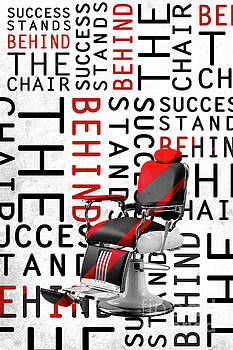 Success Stands Behind The Chair by Shop Aethetiks