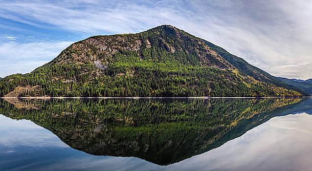 Sullivan Lake Reflection by David Sams