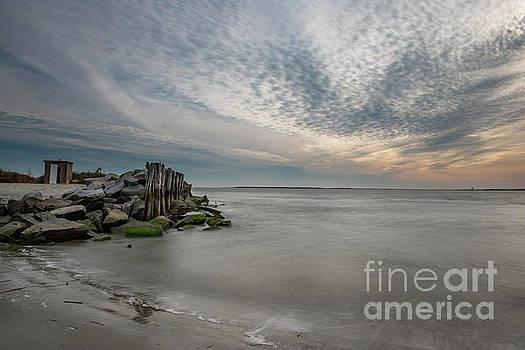 Sullivan's Island Salt Water Days by Dale Powell