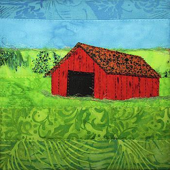 Summer Barn by Pam Geisel