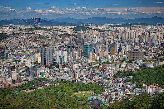 Summer Day in Seoul by Rick Berk