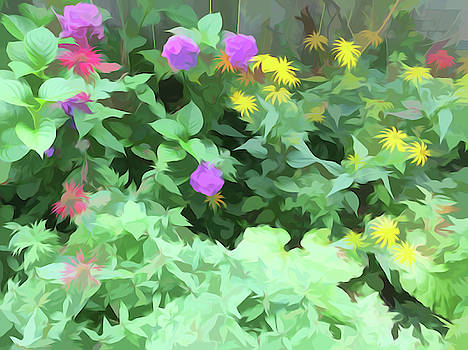 Aimee L Maher ALM GALLERY - Summer Garden Simply Soft