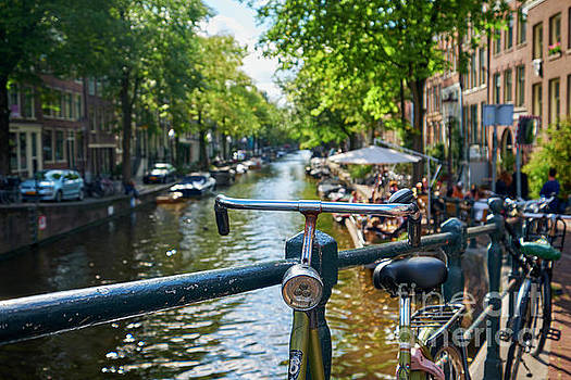 Summer Impression of Amsterdam by George Oze