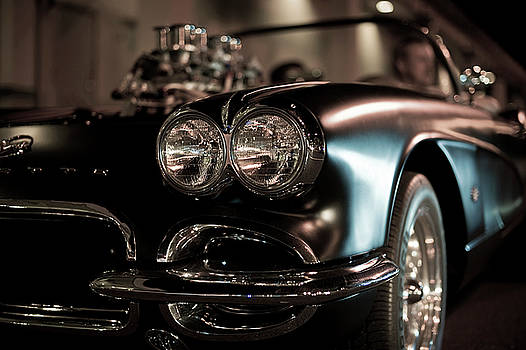 Summer Nights - C1 Corvette by Jayson Tuntland