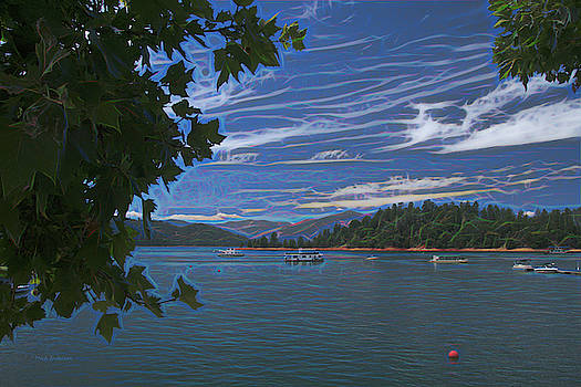 Summer on Lake Shasta by Mick Anderson