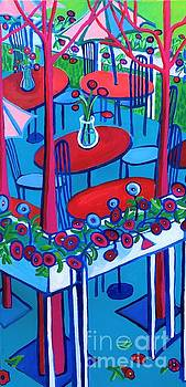 Summer Seating at La Casa de Pedros by Debra Bretton Robinson