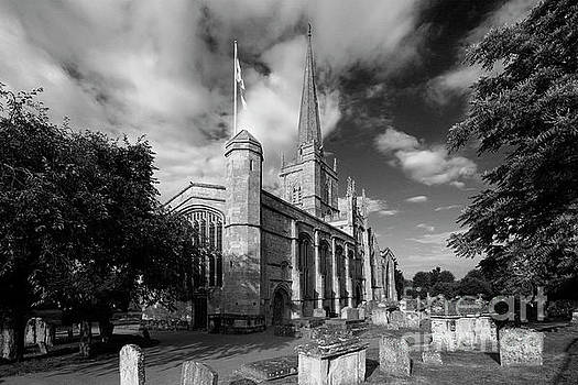 Summer, St Johns Parish Church, Burford Town by Dave Porter