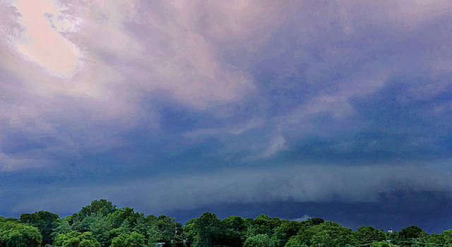 Summer Storm in Tennessee  by Ally White