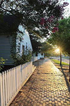 Summer Sunset on the Duke of Gloucester Street by Rachel Morrison