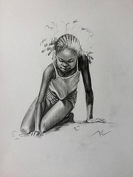 Sun and Sand 1 by Katerina Kovatcheva