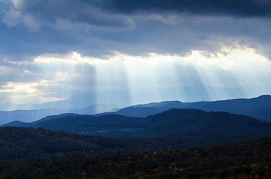 Light Breaking Through Clouds by Paul Croll