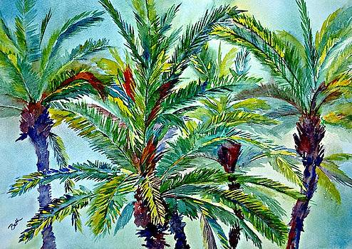 Sun-kissed Palms by Beth Fontenot
