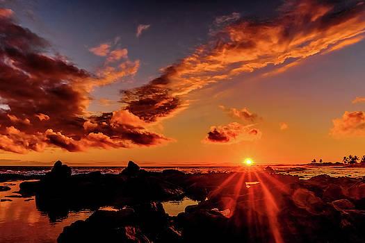 Sun on the Rocks by John Bauer