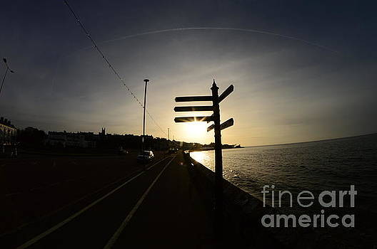 Sun Rise Sign by Andy Thompson