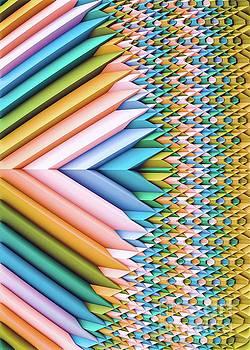 Sun Shard III. Geometric Art  by Stephen Geisel