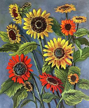 Sunflower Days by Randy Burns
