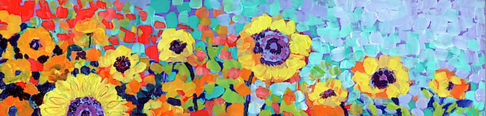 Sunflower Slice by Jennifer Lommers