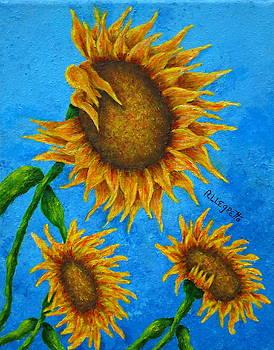 Sunflowers by Pamela Allegretto