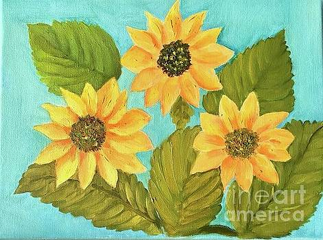 Sunflowers by Vandana Dayal