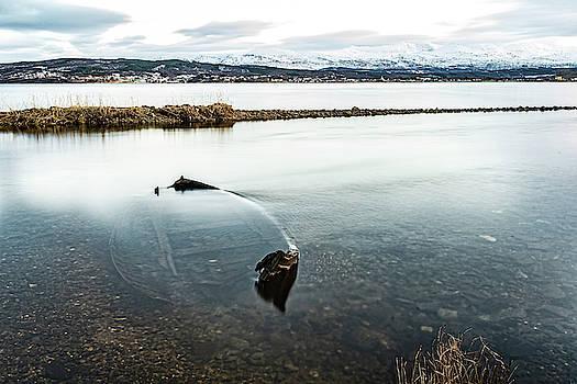 Sunken Boat by Kai Mueller