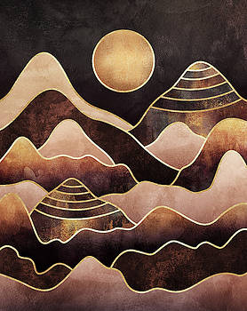 Sunkissed Mountains by Elisabeth Fredriksson