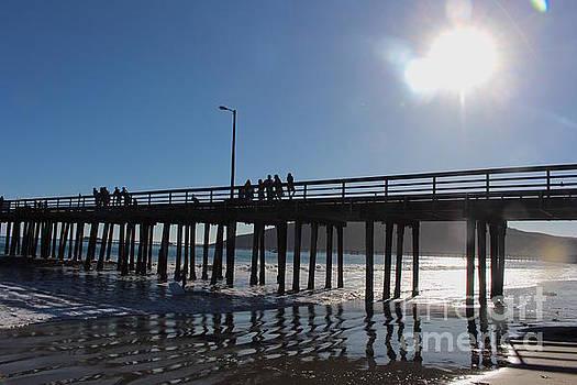 Sunlight on Avila Pier by Katherine Erickson