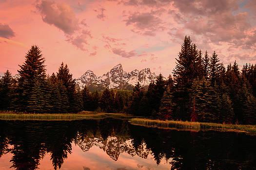 Sunrise Alpine Glow by John Wilkinson