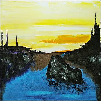 Sunrise at Black Rock Lake Number Four by Scott Haley