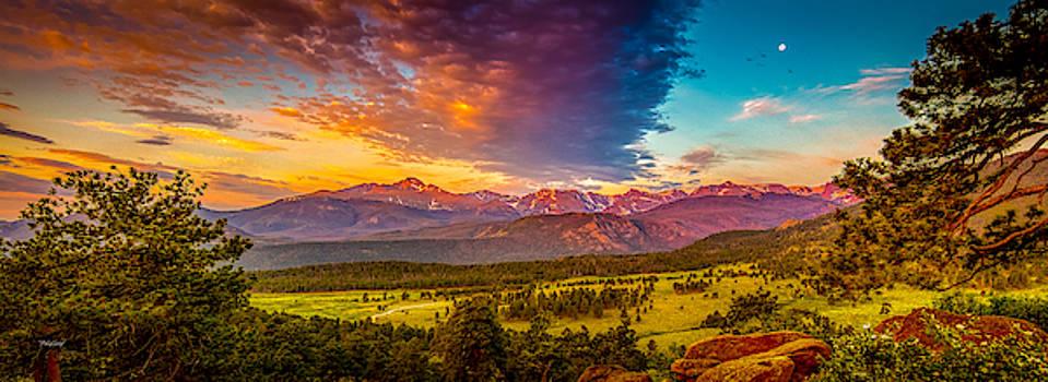 Sunrise at Deer Ridge by Fred J Lord