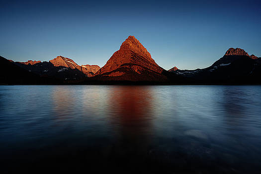 Sunrise at Glacier National Park, Montana by Kamran Ali