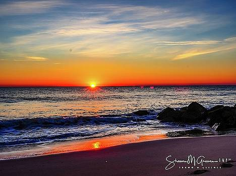 Sunrise at Rehoboth by Shawn M Greener