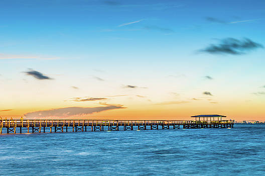 Joe Leone - Sunrise at Safety Harbor Pier