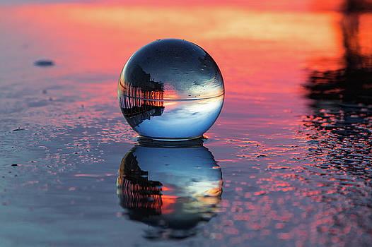 Sunrise at the beach by Darryl Hendricks