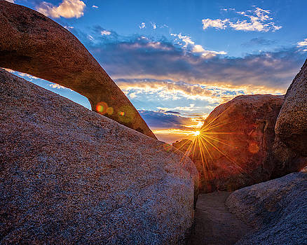 Sunrise At The Mobius Arch by Nazeem Sheik