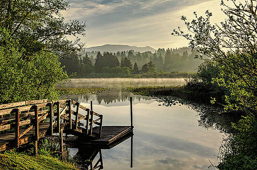 Sunrise by the Lake by Maria Coulson