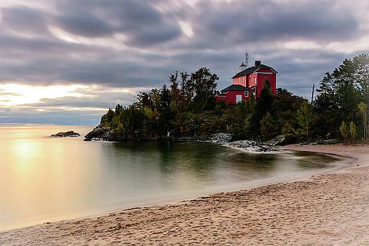 Sunrise Coast Guard Lighthouse by John Wilkinson