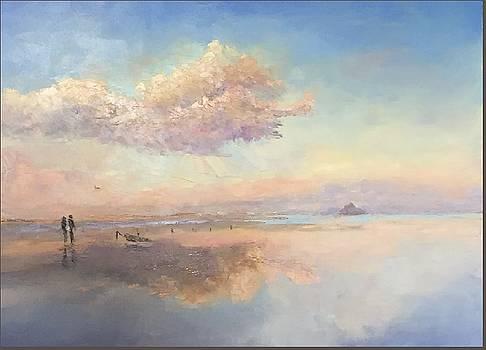 Sunrise, Kaneohe Bay by Ed Furuike