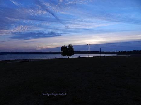 Sunrise on Lake Tyler in East Texas by Carolyn Hebert
